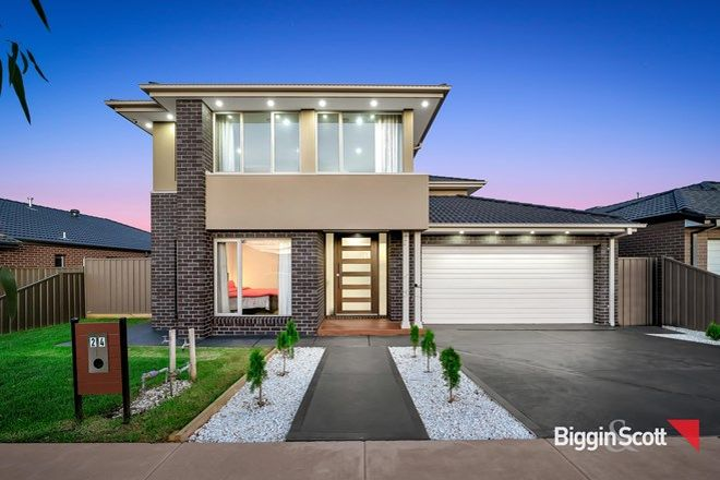 Picture of 24 Cinnabar Way, COBBLEBANK VIC 3338