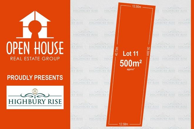 Picture of Lot 11, 1113 Lower North East Road, HIGHBURY SA 5089