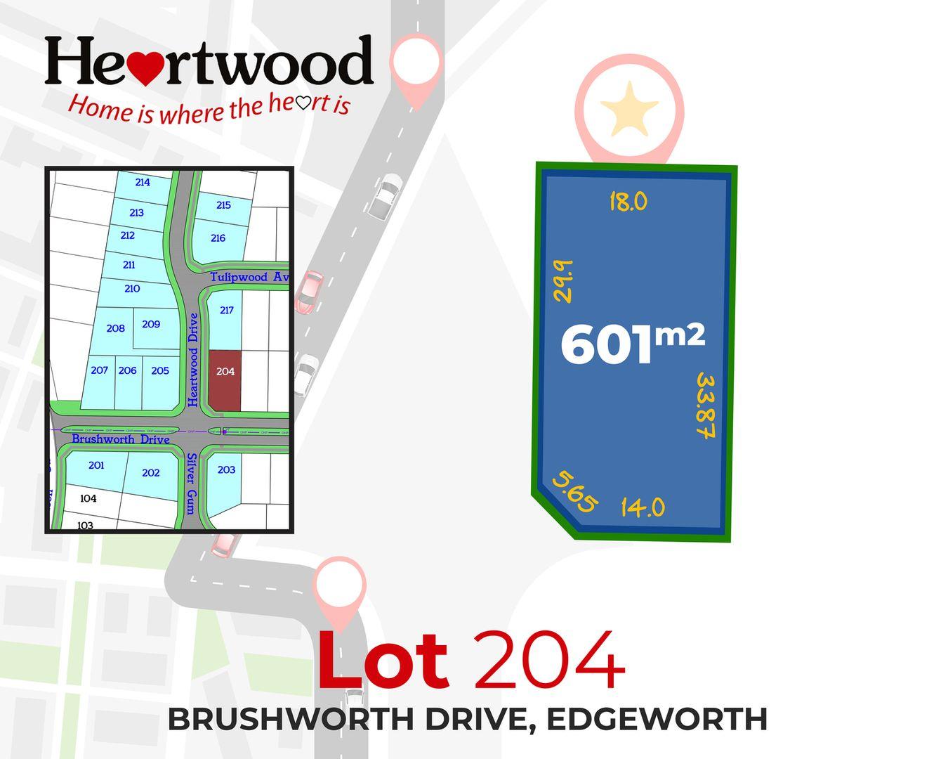 Lot/204 Heartwood Drive, Edgeworth NSW 2285, Image 2
