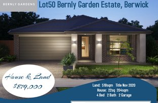 Picture of LOT 50 Bernly Garden Estate, Berwick VIC 3806