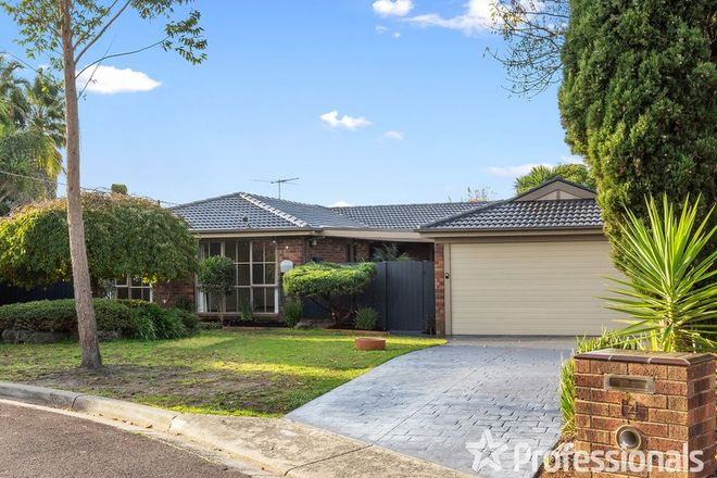 Picture of 14 Grose Court, CROYDON HILLS VIC 3136