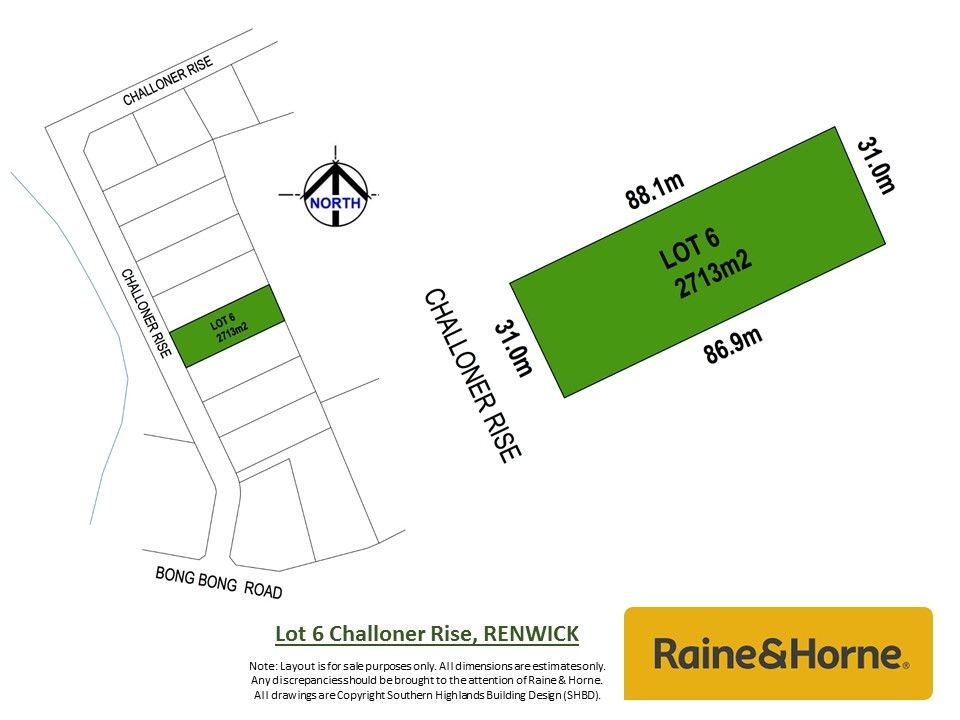 Lot 6 Challoner Rise, Mittagong NSW 2575, Image 0