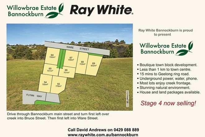 Picture of Lot 65 Willowbrae Estate, BANNOCKBURN VIC 3331