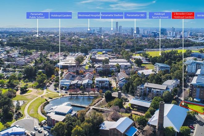 Picture of 2 Benedict Court, MERRYLANDS NSW 2160