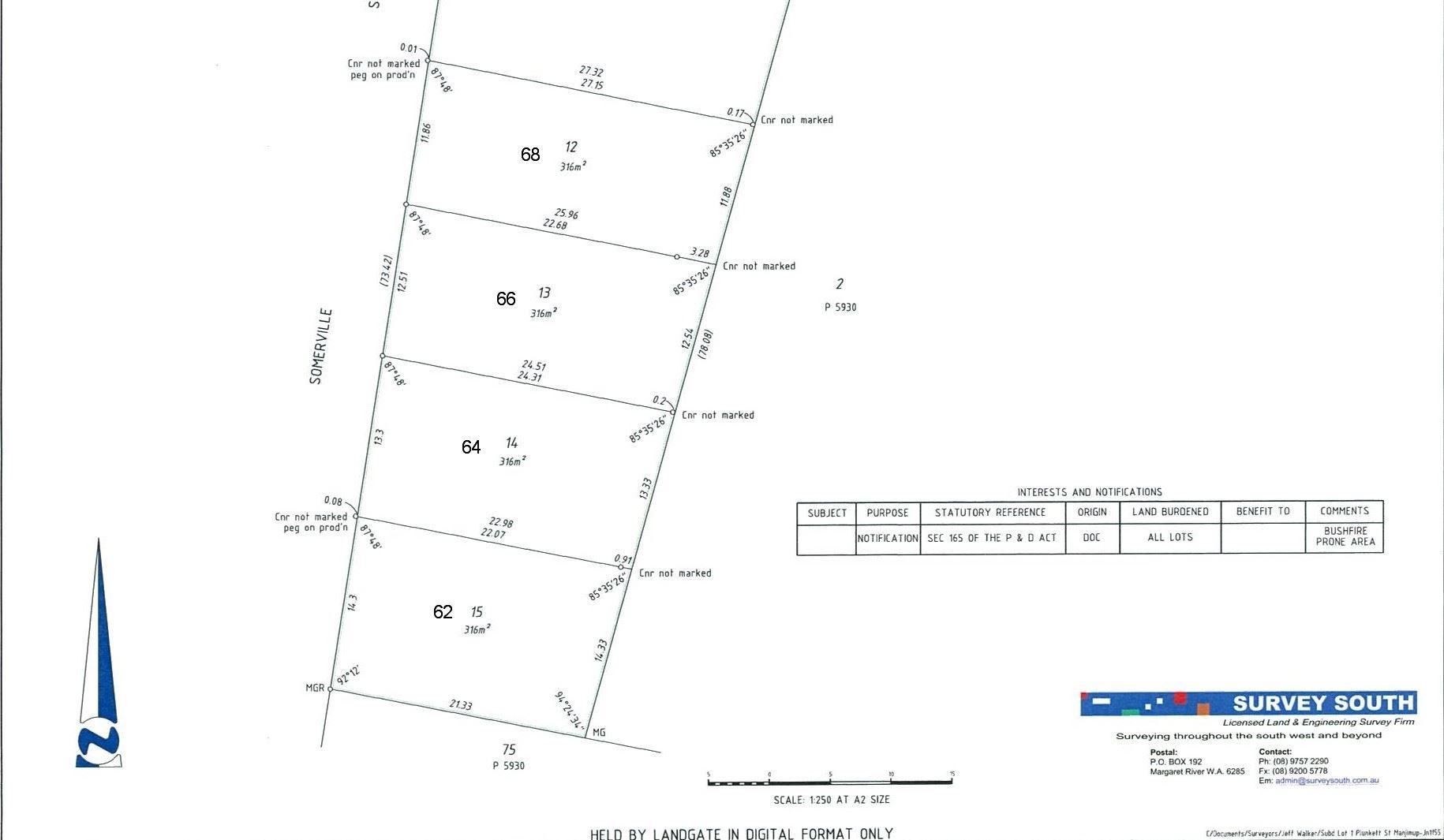 62, 64, 66 Somerville Street, Manjimup WA 6258, Image 0