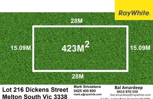 Picture of Lot 216 Dickens Street, Melton South VIC 3338