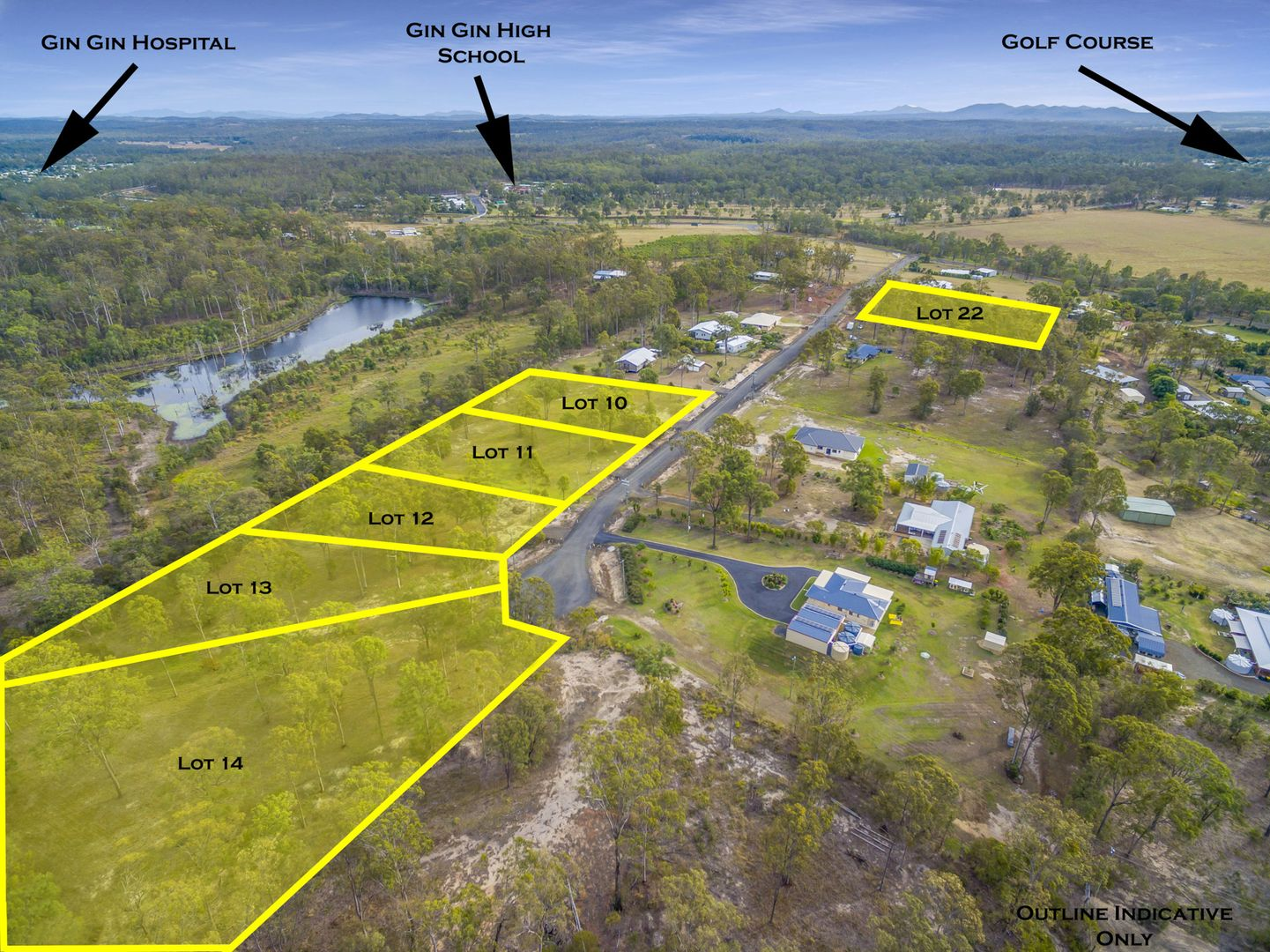 Lots 10-14, 22 Scotsman Heights Estate, Mcilwraith QLD 4671, Image 0