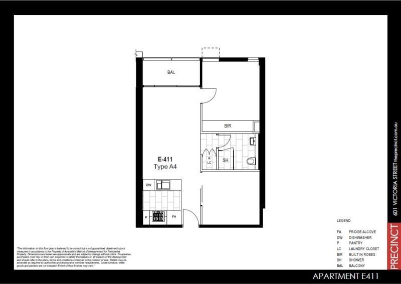E411 / 11 Flockhart Street, Abbotsford VIC 3067, Image 8
