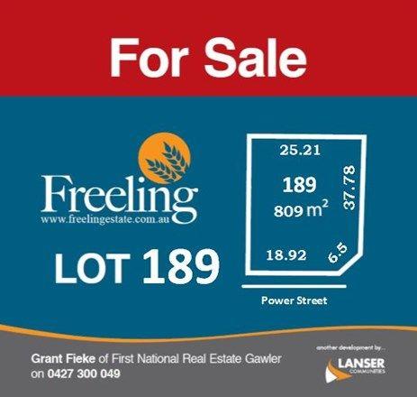 Lot 189 Power Street, Freeling SA 5372, Image 0