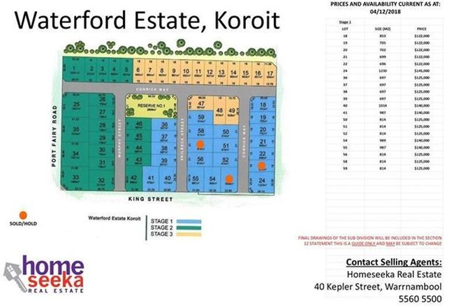 Picture of Waterford Estate, KOROIT VIC 3282