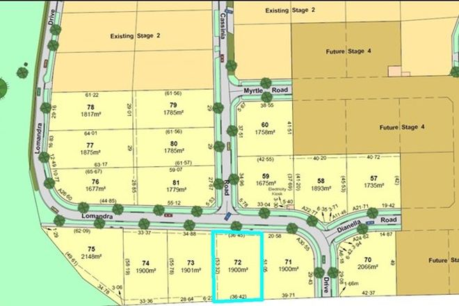 Picture of Lot/72 Lomandra Drive, KIALLA VIC 3631