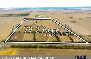 Picture of 2345 Bacchus Marsh Road, Balliang East VIC 3340