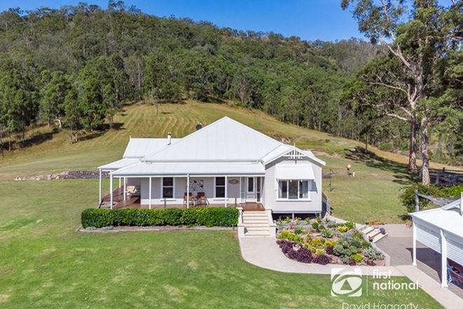 Picture of 1542 Maitland Vale Road, LAMBS VALLEY NSW 2335