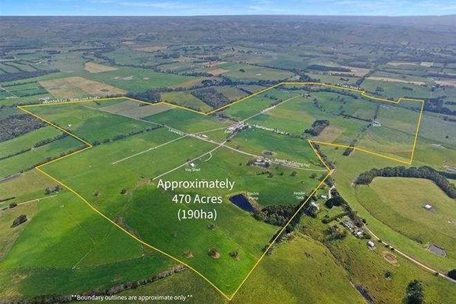 Picture of 140 Butterworths Road, STONY CREEK VIC 3957