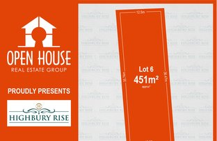 Picture of Lot 6, 1113 Lower North East Road, Highbury SA 5089