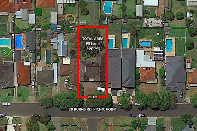 Picture of 28 Burns Road, PICNIC POINT NSW 2213