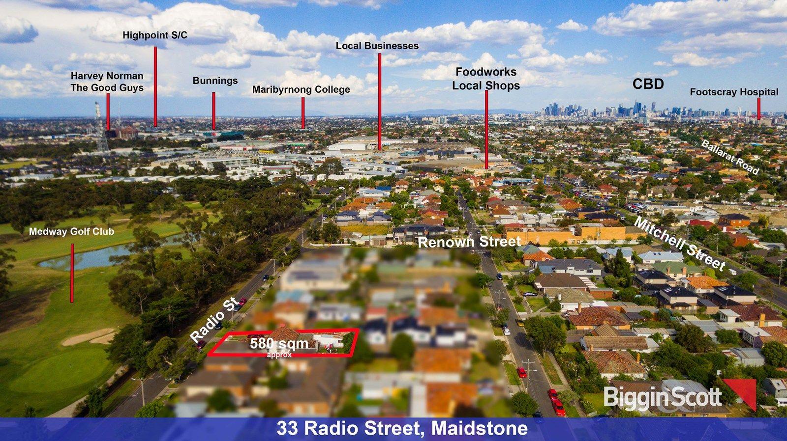 33 Radio Street, Maidstone VIC 3012, Image 1