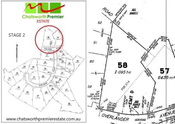 Lot 58 OVERLANDER AVENUE, Chatsworth QLD 4570, Image 1