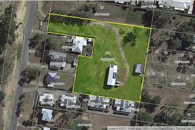 Picture of 99 PENNYCUICK STREET, WEST ROCKHAMPTON QLD 4700