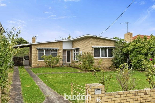 Picture of 36 Elimatta Road, CARNEGIE VIC 3163
