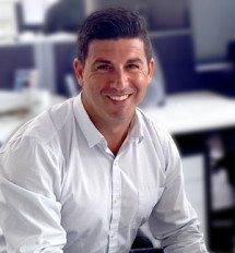 John Cuciti, Sales representative