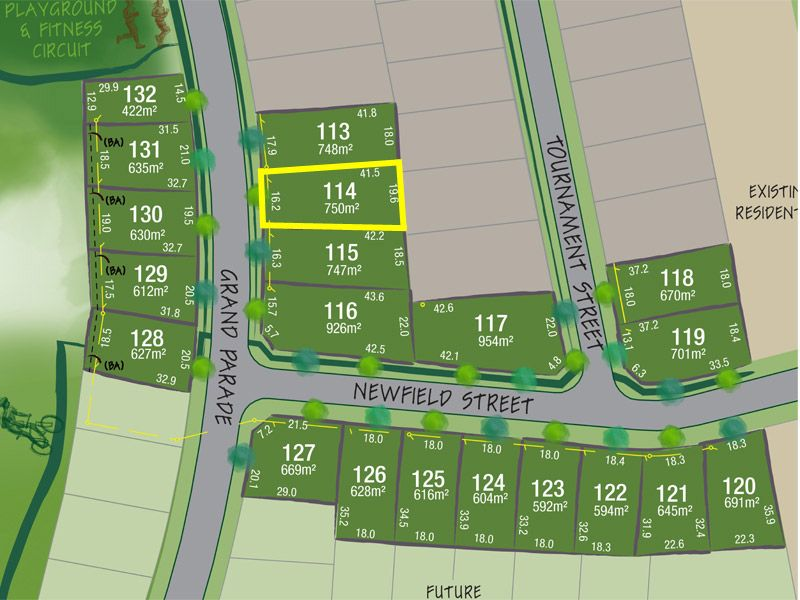 Lot 114 Grand Parade, Rutherford NSW 2320, Image 1