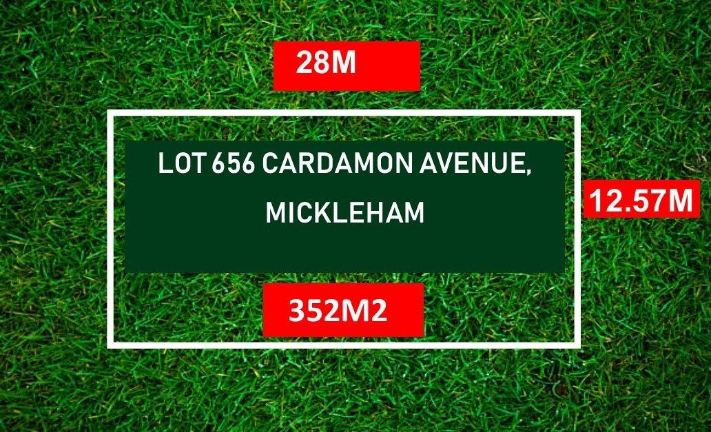 LOT 656 CARDAMON AVENUE, Mickleham VIC 3064, Image 0