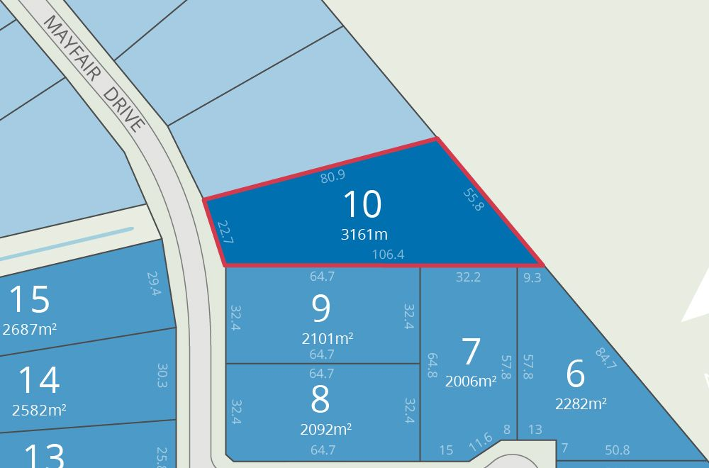 Lot 10 Mayfair Drive, Benalla VIC 3672, Image 0