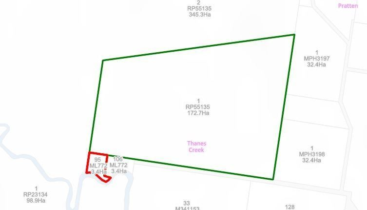 Lot 1 & 95 Big Hill Road, Thanes Creek QLD 4370, Image 0