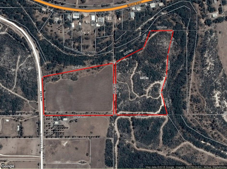 Lot 101 St Dominics Road, Port Denison WA 6525, Image 1