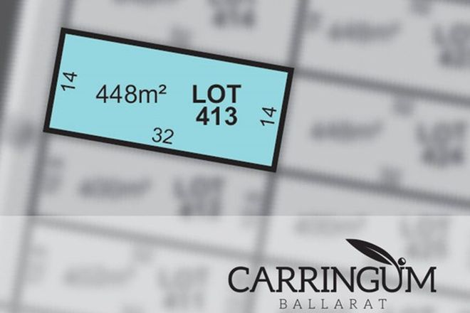 Picture of Carringum/Lot 413 Kite Street, WINTER VALLEY VIC 3358