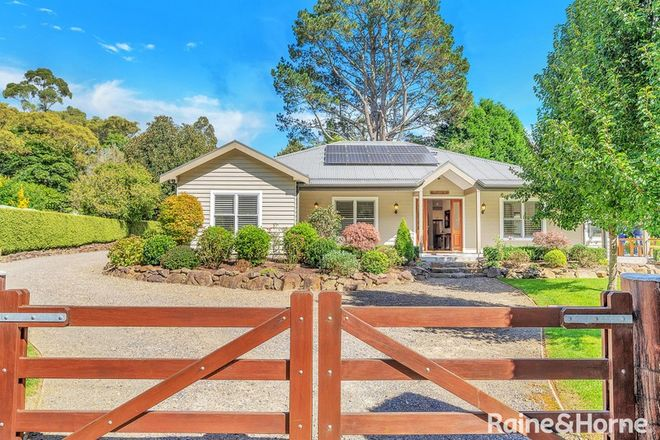 Picture of 1268 Nowra Road, FITZROY FALLS NSW 2577