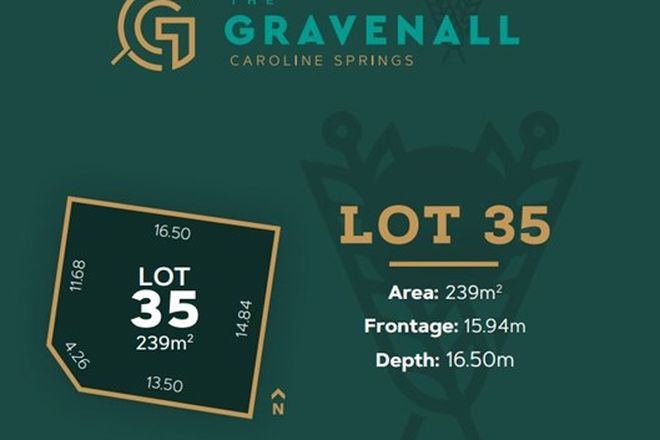 Picture of Lot 35 Taylors Road, CAROLINE SPRINGS VIC 3023