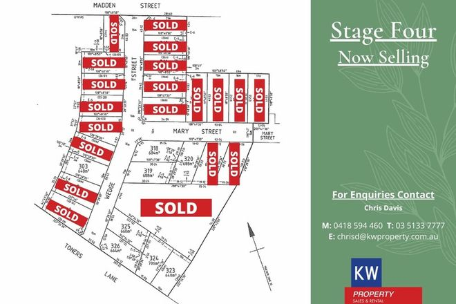 Picture of The Range Stage 4/Multiple Blocks Wedge Street, MORWELL VIC 3840