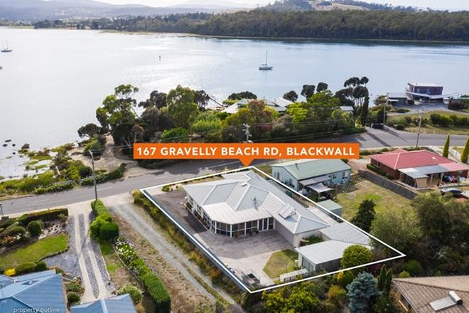 Picture of 167 Gravelly Beach Road, BLACKWALL TAS 7275
