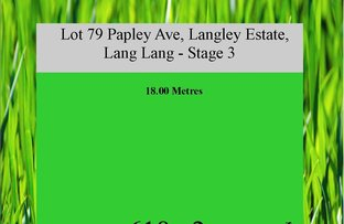 Picture of Lot 79 Papley Ave, Langley Park Estate (stage 3), Lang Lang VIC 3984