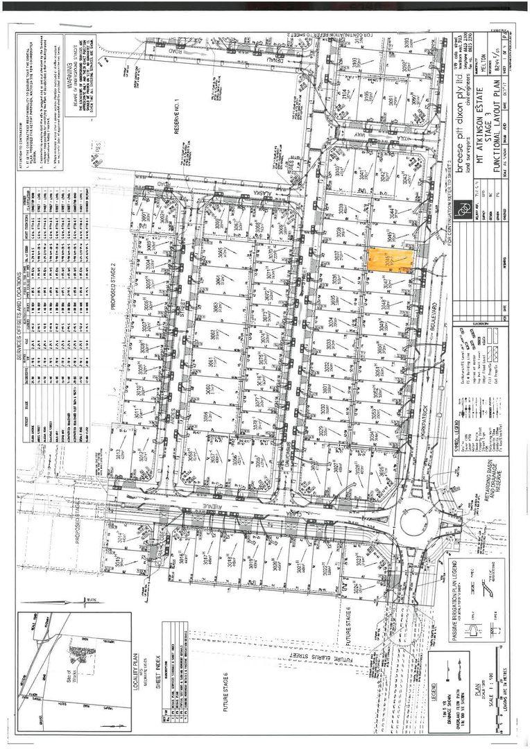 Lot 3046 Kirkpatrick Boulevard Mt Atkinson, Truganina VIC 3029, Image 0