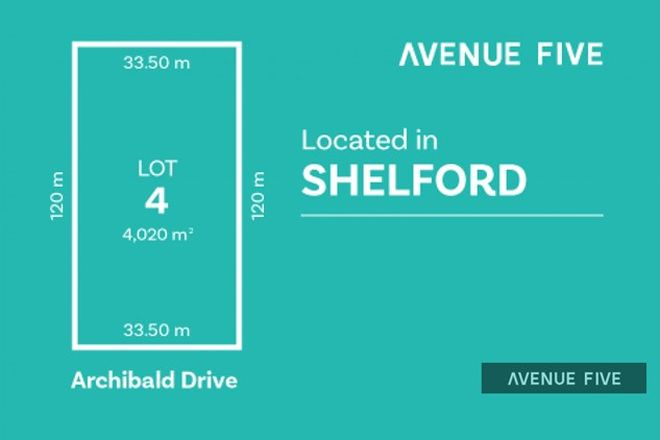 Picture of Lot 4 Archibold Drive, SHELFORD VIC 3329