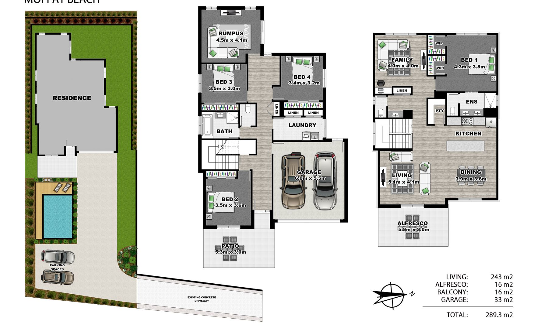 Lot 2/10 Jackman Street, Moffat Beach QLD 4551, Image 1