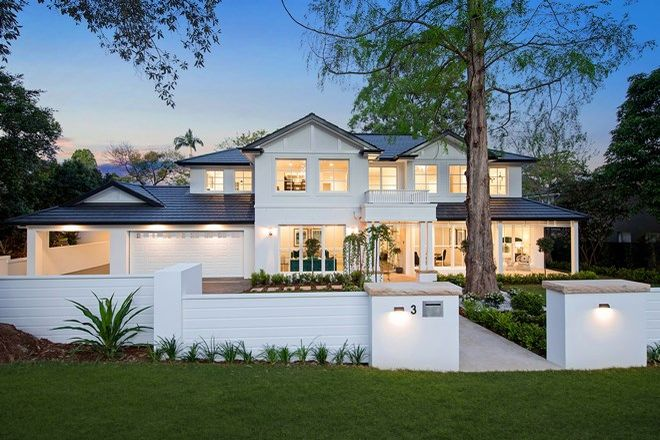 Picture of 3 Hampden Avenue, WAHROONGA NSW 2076