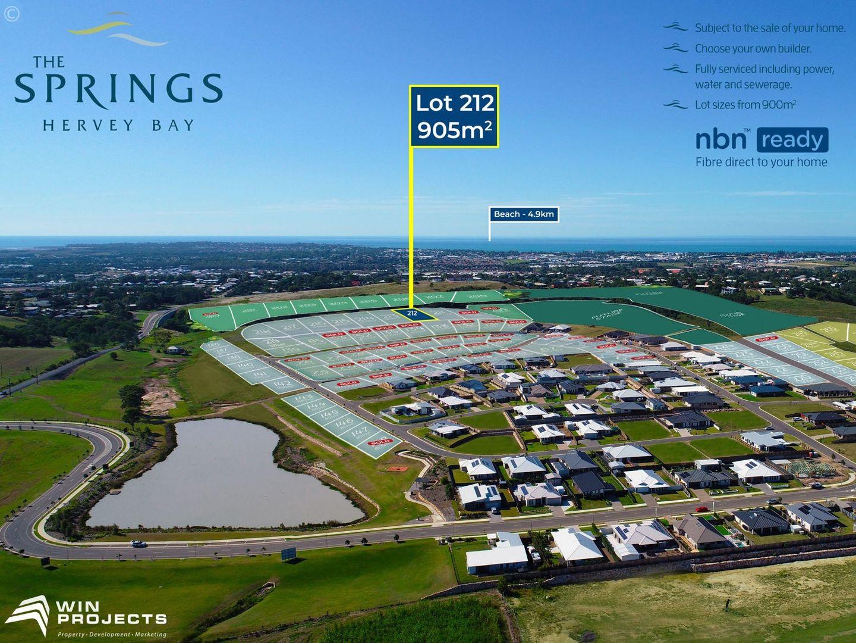 Lot 212 The Springs, Nikenbah QLD 4655, Image 0