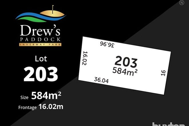 Picture of Drews Paddock/Lot 203 Divot Court, INVERMAY PARK VIC 3350