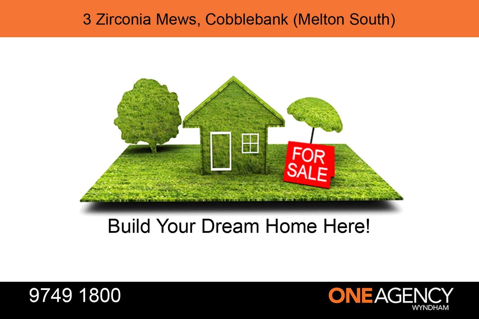 3 ZIRCONIA Mews, Melton South VIC 3338, Image 0
