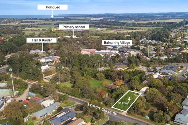 Picture of Lot 4/21 - 25 Stumpy Gully Road, BALNARRING VIC 3926