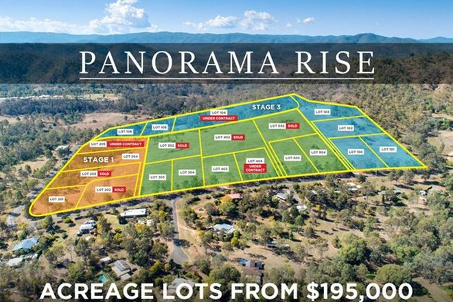 Picture of 196A Banks Creek Road, FERNVALE QLD 4306