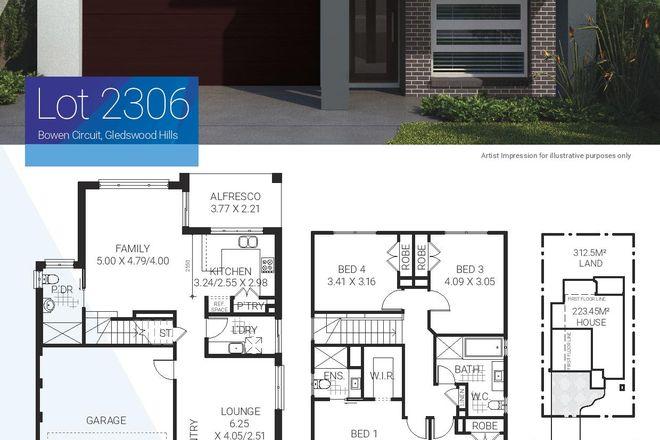 Lot 2306 Bowen Circuit, GLEDSWOOD HILLS NSW 2557
