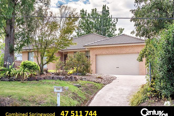 Picture of 8 Springwood Ave, SPRINGWOOD NSW 2777