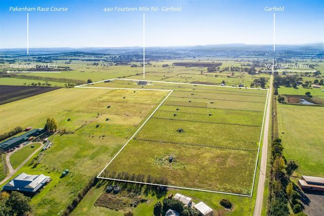 Picture of 440 Fourteen Mile Road, GARFIELD VIC 3814
