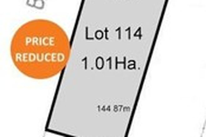 Picture of Lot 114 Burts Road, DUTTON SA 5356