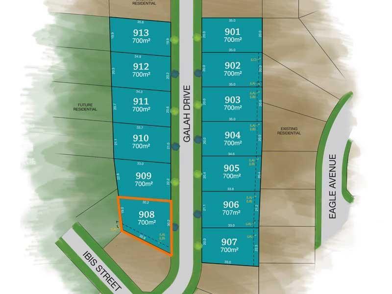 Lot 908 Galah Drive, Tamworth NSW 2340, Image 0